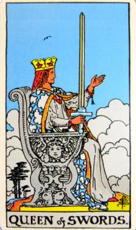 Queen of Swords front